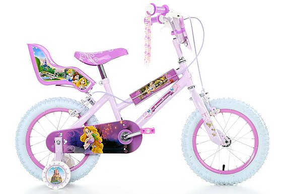 Disney Princess Girls Bike - 14