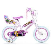 image of Disney Princess Girls Bike - 14""