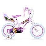"image of Disney Princess Girls Bike - 14"""