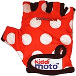 image of Kiddimoto Red Dotty Gloves