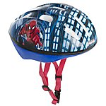 image of Spiderman Boys Bike Helmet (52-56cm)