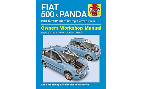 image of Haynes Fiat 500 & Panda (04 - 12) Manual