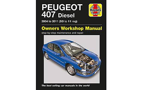 image of Haynes Peugeot 407 Diesel (04 - 11) Manual