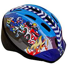 image of Apollo Firechief & Police Patrol Boys Bike Helmet (48-52cm)