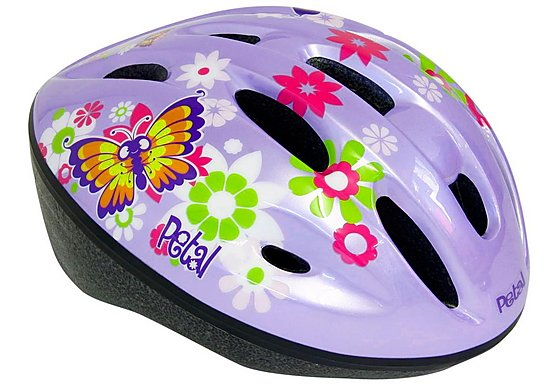 Apollo Petal Girls Bike Helmet (50-56cm)