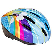 image of Apollo Pom Pom & Pixie Girls Bike Helmet (50-54cm)