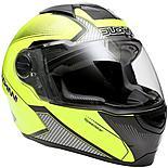 Duchinni D811 Gloss Black/Neon Motorcycle Helmet