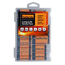 image of Halfords 33pc Variety Battery Pack