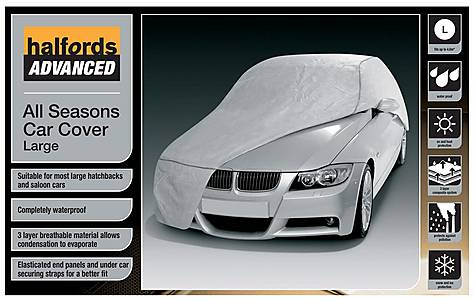 image of Halfords Advanced All Seasons Car Cover Large