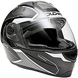 Duchinni D811 Gloss Black/Gunmetal Motorcycle Helmet