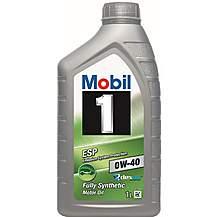 image of Mobil 1 ESP 0W40 Engine Oil 1 Litre