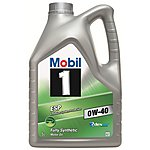 image of Mobil 1 ESP 0W40 Engine Oil 5Litre