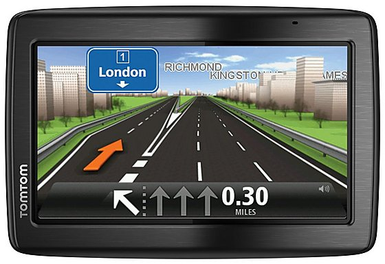 TomTom Via 135 Sat Nav - UK & ROI