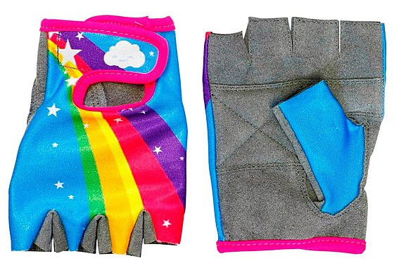 Apollo Rainbow Girls Bike Mitts