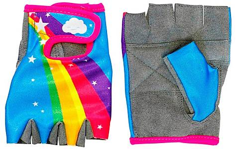 image of Apollo Rainbow Girls Bike Mitts