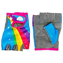 image of Apollo Rainbow Girls Bike Mitts