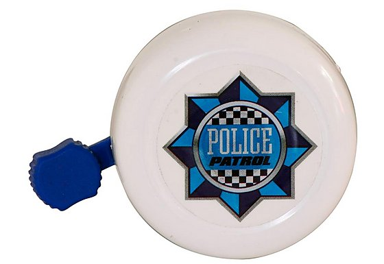 Apollo Police Patrol Boys Bike Bell