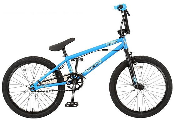 Radio Dice BMX Bike Cyan