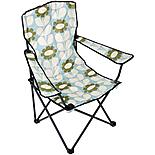 Olive and Orange by Orla Kiely Folding Chair - Duck Egg