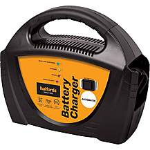 image of Halfords Fully Automatic Battery Charger