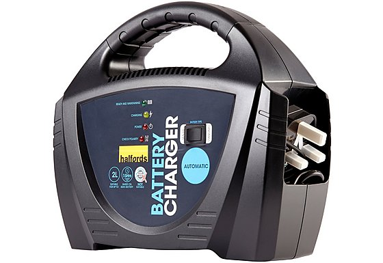 Halfords Halfords Fully Automatic Battery Charger