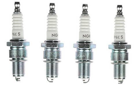 image of NGK 01 Spark Plug (x4) BP6ES
