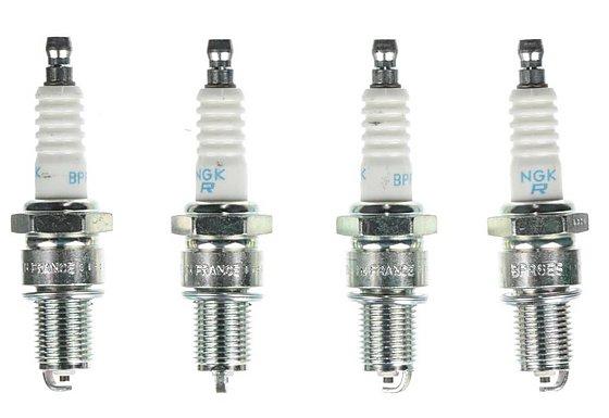 NGK 07 Spark Plug (x4) BPR6ES
