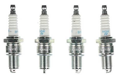 image of NGK 07 Spark Plug (x4) BPR6ES