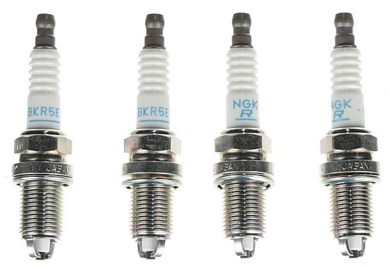 NGK 08 Spark Plug (x4) BKR5EK