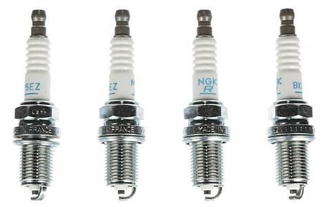 image of NGK 44 Spark Plug (x4) BKR5EZ