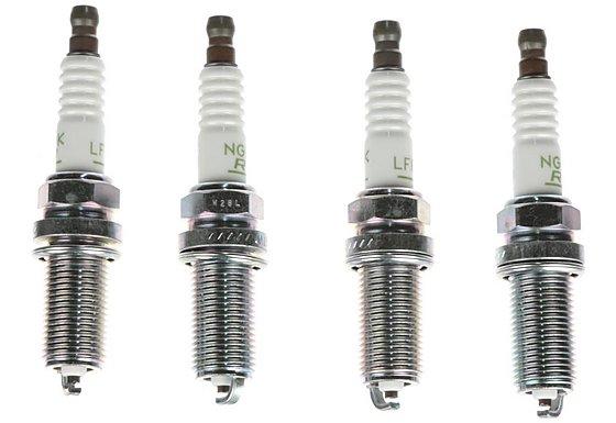 NGK24 Spark Plug (x4) LFR5B