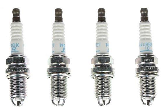 NGK 26 Spark Plug (x4) BKUR6ET-10