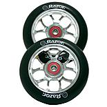 Razor Spoke Scooter Wheels - Silver