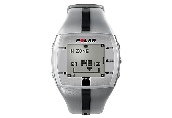 Polar FT4M Training Computer HRM - Silver/Black