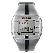 image of Polar FT4M Training Computer HRM - Silver/Black