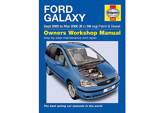 Haynes Ford Galaxy (Sept 00- Mar 06) Manual