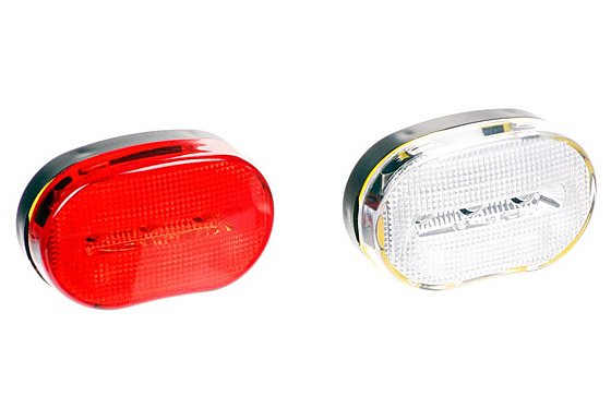 Halfords 3 LED Bike Light Set 2012