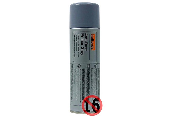 Halfords Anti-Rust Primer Grey 300ML