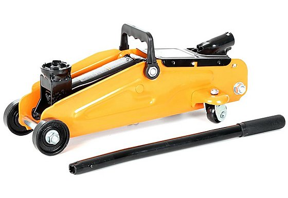Halfords 2 Tonne Trolley Jack Short Wheel Base