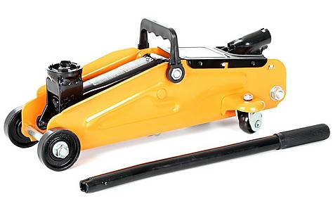 image of Halfords 2 Tonne Trolley Jack Short Wheel Base