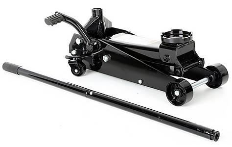 image of Halfords Advanced 3 Tonne Quick Lift Garage Trolley Jack