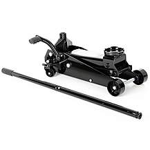 image of Halfords 3 Tonne Quick Lift Garage Trolley Jack