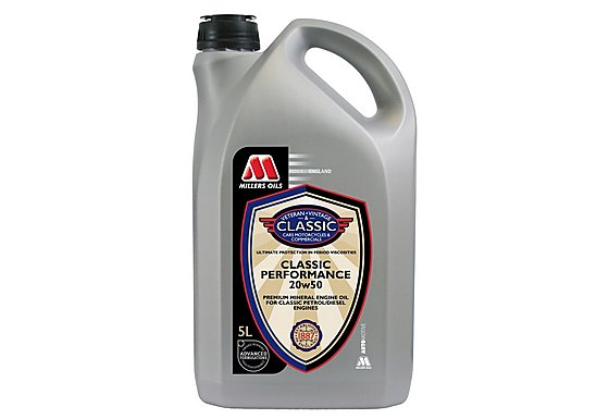 Millers Classic Performance 20w50 Oil 5L