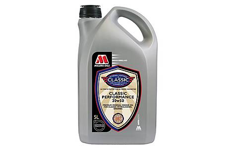 image of Millers Classic 20w50 Oil 5L