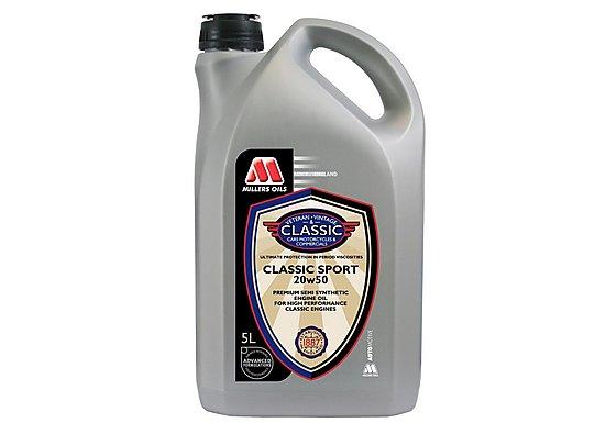 Millers Classic Sport 20w50 Oil 5L