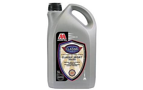 image of Millers Classic Sport 20w50 Oil 5L