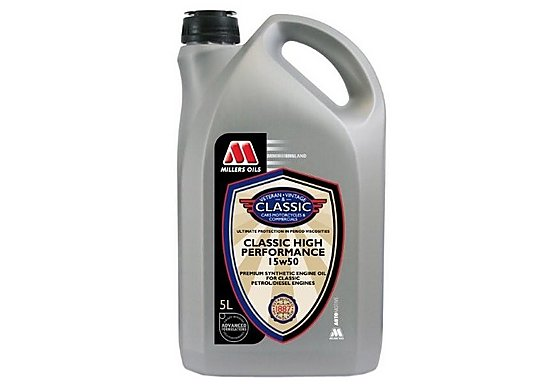Millers Classic High Performance 15w50 Oil 5L