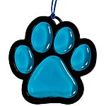 image of Auto Expressions 3D Animal Paw Car Air Freshener Blue Cool Sunrise