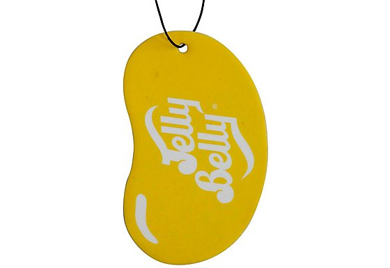 Jelly Belly 2D Car Air Freshener Lemon Drop
