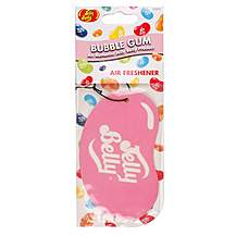 image of Jelly Belly 2D Car Air Freshener Bubblegum